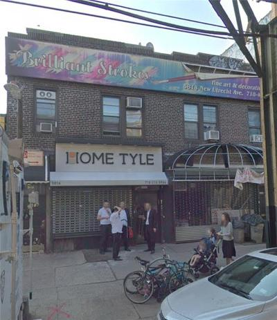 Brooklyn Commercial Mixed Use For Sale: 5814 New Utrecht Avenue