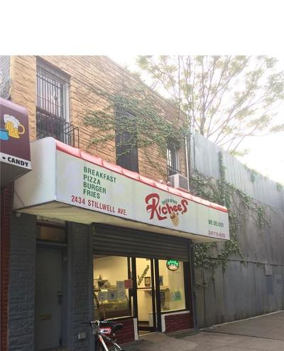 Brooklyn Commercial Mixed Use For Sale: 2434 Stillwell Avenue