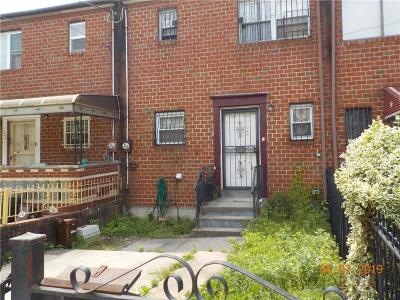 Brooklyn NY Single Family Home For Sale: $488,250