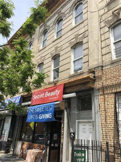 Brooklyn Commercial Mixed Use For Sale: 551 Knickerbocker Avenue