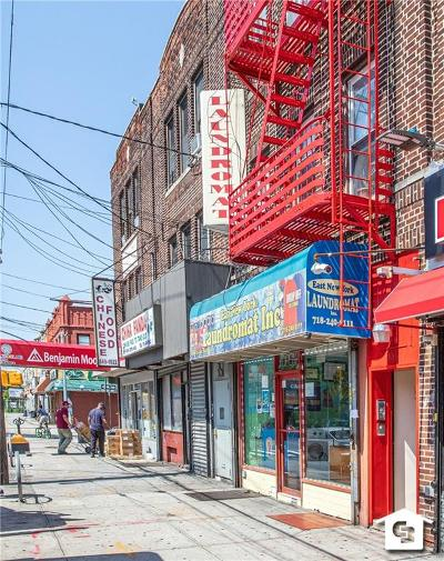 Brooklyn Commercial Mixed Use For Sale: 355 New Lots Avenue