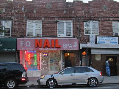Brooklyn Commercial Mixed Use For Sale: 421 New Lots Avenue