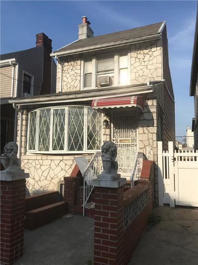Brooklyn Single Family Home For Sale: 287 East 55 Street