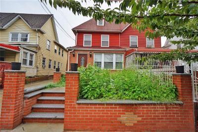 Brooklyn Single Family Home For Sale: 638 East 53 Street