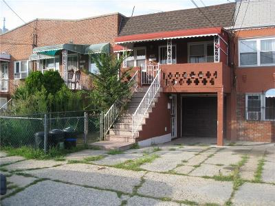 Brooklyn Multi Family Home For Sale: 1153 East 102 Street