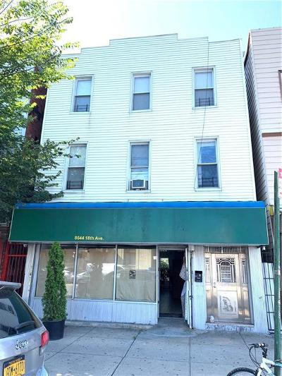Brooklyn Commercial Mixed Use For Sale: 8644 18 Avenue