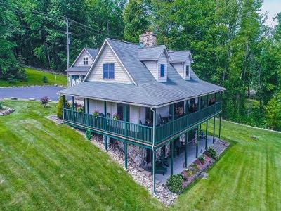 Chautauqua County Single Family Home A-Active: 2640 Rt 394 (Trolley Stop Lane)