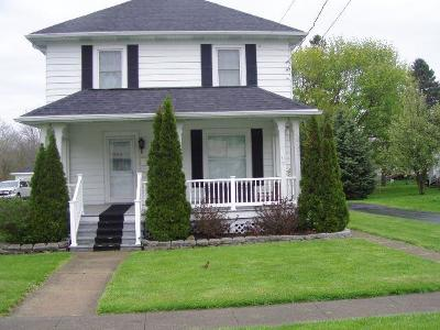 Silver Creek NY Single Family Home Sold: $94,500