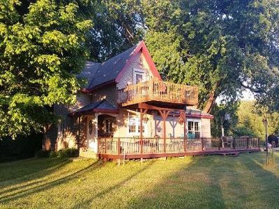 Chautauqua County Single Family Home A-Active: 10487 West Lake Road