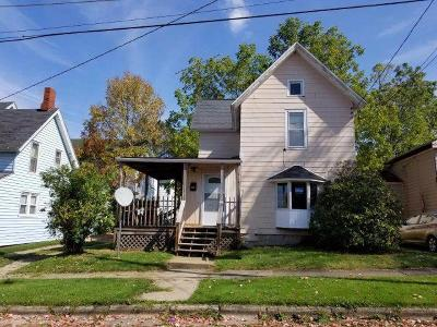 Jamestown NY Single Family Home A-Active: $32,900