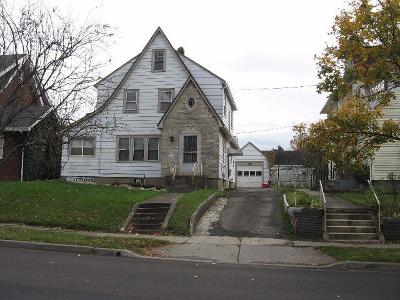 Jamestown NY Single Family Home A-Active: $52,000