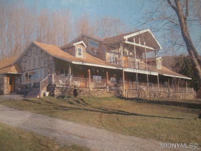 Sherburne Single Family Home For Sale: 293 Kendrick Road