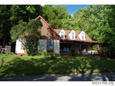 Brookfield NY Single Family Home For Sale: $184,900