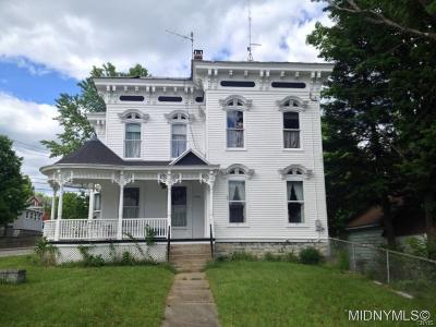Herkimer County Single Family Home A-Active: 4446 Norway Street