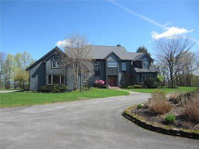 Sauquoit Single Family Home A-Active: 8801 Grange Hill Road