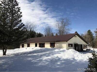 Boonville NY Single Family Home Sold: $179,900