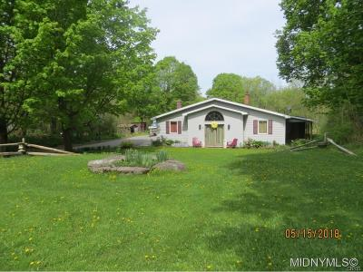 Waterville NY Single Family Home For Sale: $149,900
