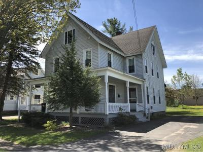 Boonville NY Single Family Home Sold: $124,200