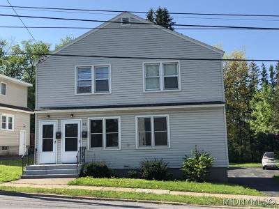 New York Mills NY Multi Family Home Sold: $145,000