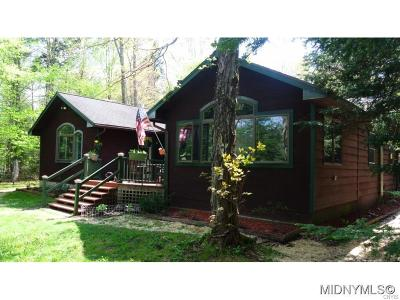 Thendara NY Single Family Home A-Active: $395,000