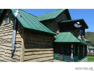 Herkimer County Single Family Home A-Active: 2158 Big Moose Road