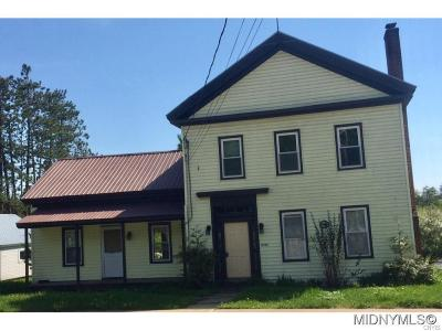 Oneida County Multi Family 2-4 A-Active: 12208 Woodhull, Rd