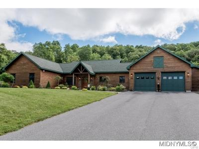 Sangerfield Single Family Home A-Active: 538 Clark Road