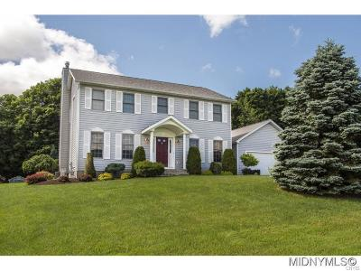 Sauquoit Single Family Home A-Active: 9510 Sunrise Drive