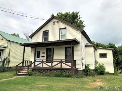 Boonville NY Single Family Home A-Active: $64,900