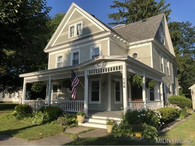Sangerfield Single Family Home A-Active: 156 Stafford Avenue