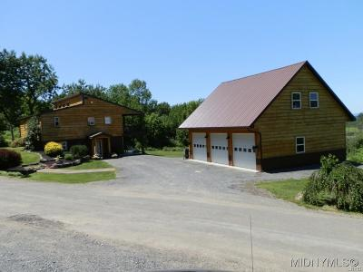 Herkimer County Single Family Home A-Active: 138 Barker Road