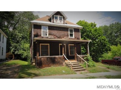 Saint Johnsville NY Single Family Home A-Active: $39,900