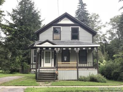 Sangerfield Single Family Home A-Active: 144 Madison Street