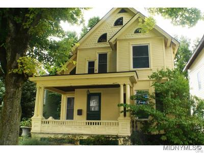 Herkimer County Single Family Home A-Active: 625 East E. Gansvoort Street