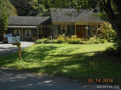 Deansboro Single Family Home A-Active: 6788 Vanhyning