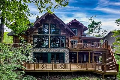 Ellicottville NY Single Family Home C-Continue Show: $1,100,000
