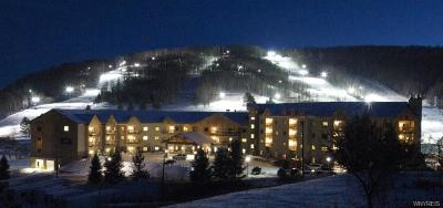 Ellicottville Condo/Townhouse A-Active: 6557 Holiday Valley Road Tamarack Club #506/508-