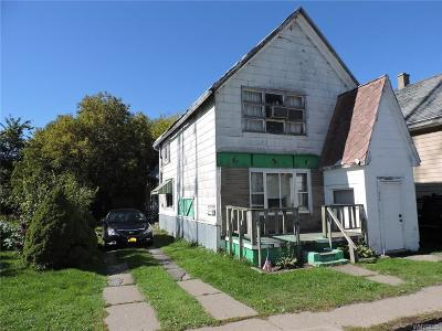 Buffalo NY Multi Family 2-4 Sold: $8,000