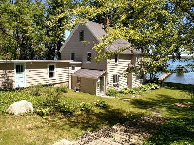 Single Family Home A-Active: 5372 West Lake Road