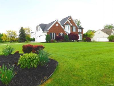 Clarence Single Family Home A-Active: 8441 Hidden Oaks Drive