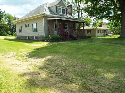 Single Family Home A-Active: 1494 Portville Olean Road
