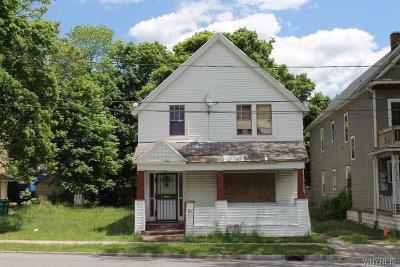 Buffalo Single Family Home A-Active: 287 Peach Street