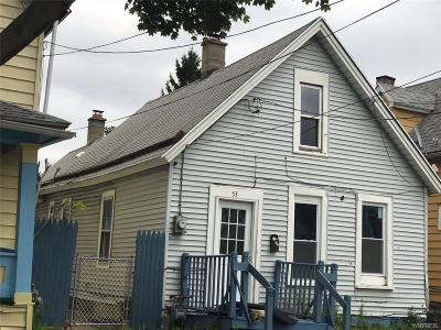 Buffalo Single Family Home A-Active: 53 Glor Street