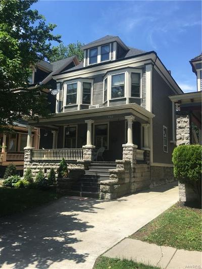 Buffalo Single Family Home A-Active: 760 Auburn Avenue