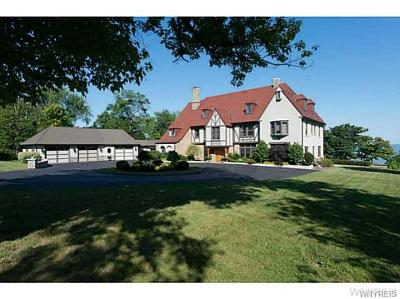 Single Family Home A-Active: 6046 Old Lake Shore Road