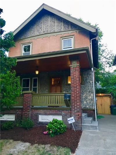 Buffalo Single Family Home A-Active: 373 Parkdale Avenue