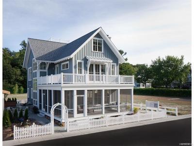 Buffalo, Evans, Hamburg Single Family Home A-Active: Lakeshore Road