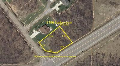 Hamburg Residential Lots & Land A-Active: 1790 Lakeview Road