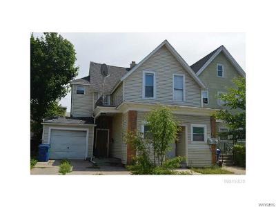 Buffalo Single Family Home A-Active: 119 Massachusetts Avenue