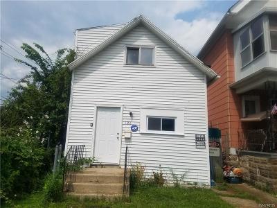 Buffalo Single Family Home A-Active: 126 Breckenridge Street